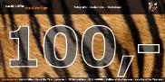 100,- Euro Gutschein (per Post)