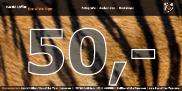 50,- Euro Gutschein (per Post)